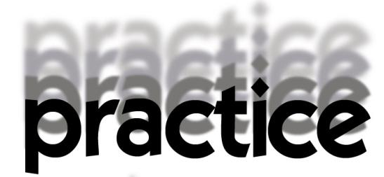 practice4onwhite