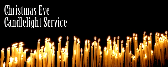 ... Service with ... Christmas Eve Candlelight Service Clip Art