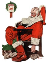 The Day after Christmas by Normal Rockwell