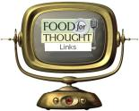 Food For Though icon on a TV Screen