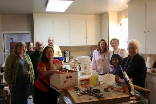 Pancake Tuesday Cooking Crew 2012