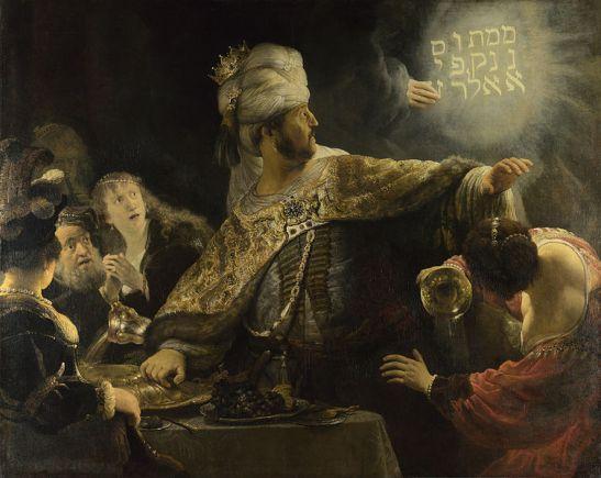 Belshazzar's FeastRembrandt-Belsazar