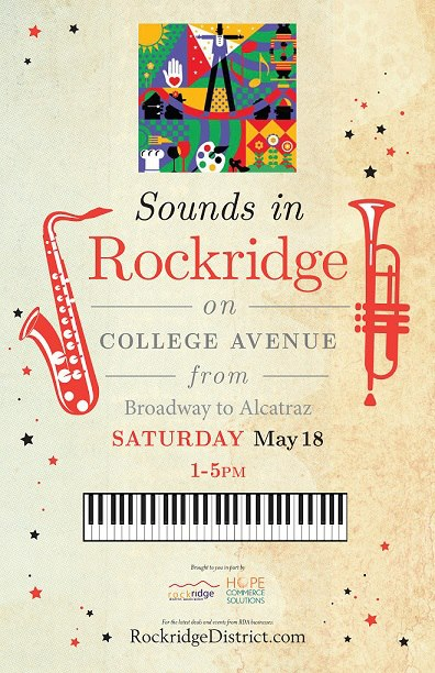 Sounds in Rockridge Poster