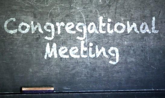 Cpngregational Meeting