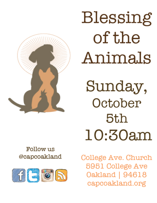 CAPC Blessing of the Animals
