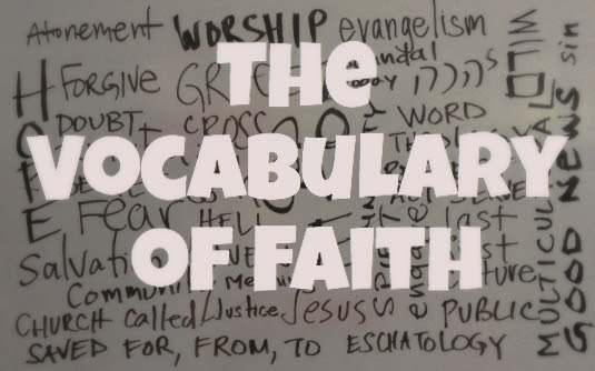 The Vocabulary of Faith Logo