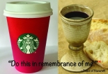 Communion Starbucks Riff