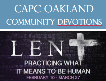 CAPC Lent Devotions Logo