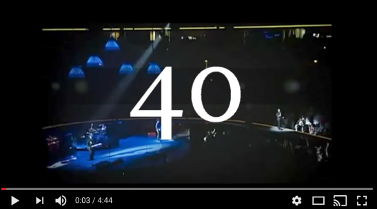 Psalm 40 U2 video