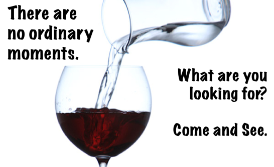 water into wine not ordinary