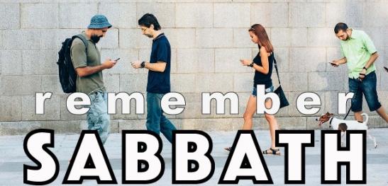 Remember Sabbath