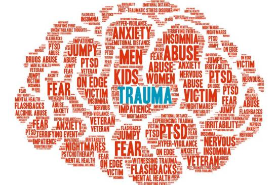 Word Cloud of Trauma