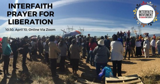 Interfaith Vigil for Liberation